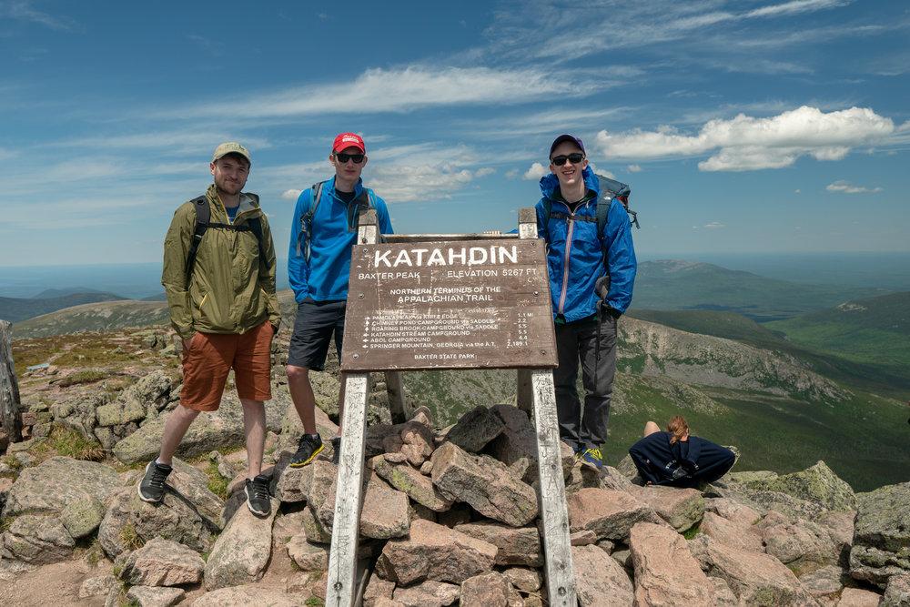 Summit of Mount Katahdin
