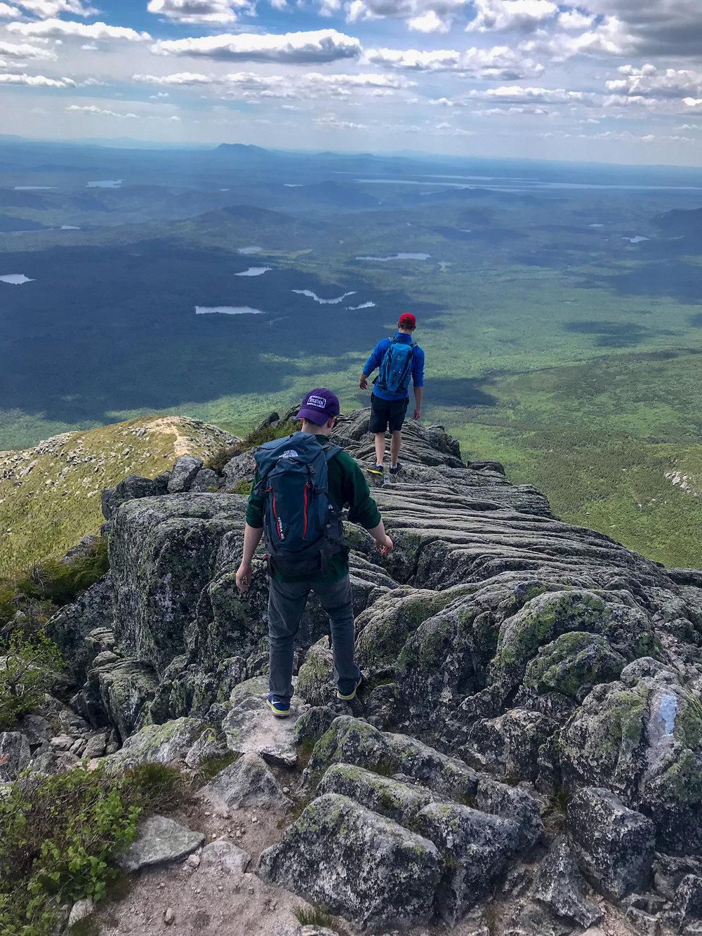 AHunt Trail Decent