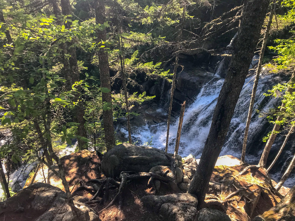 Waterfall on the Hunt Trail