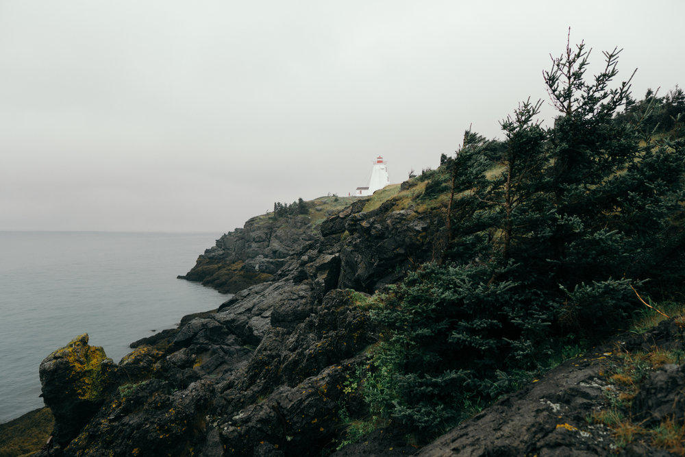 Foggy Swallow Tail Lighthouse
