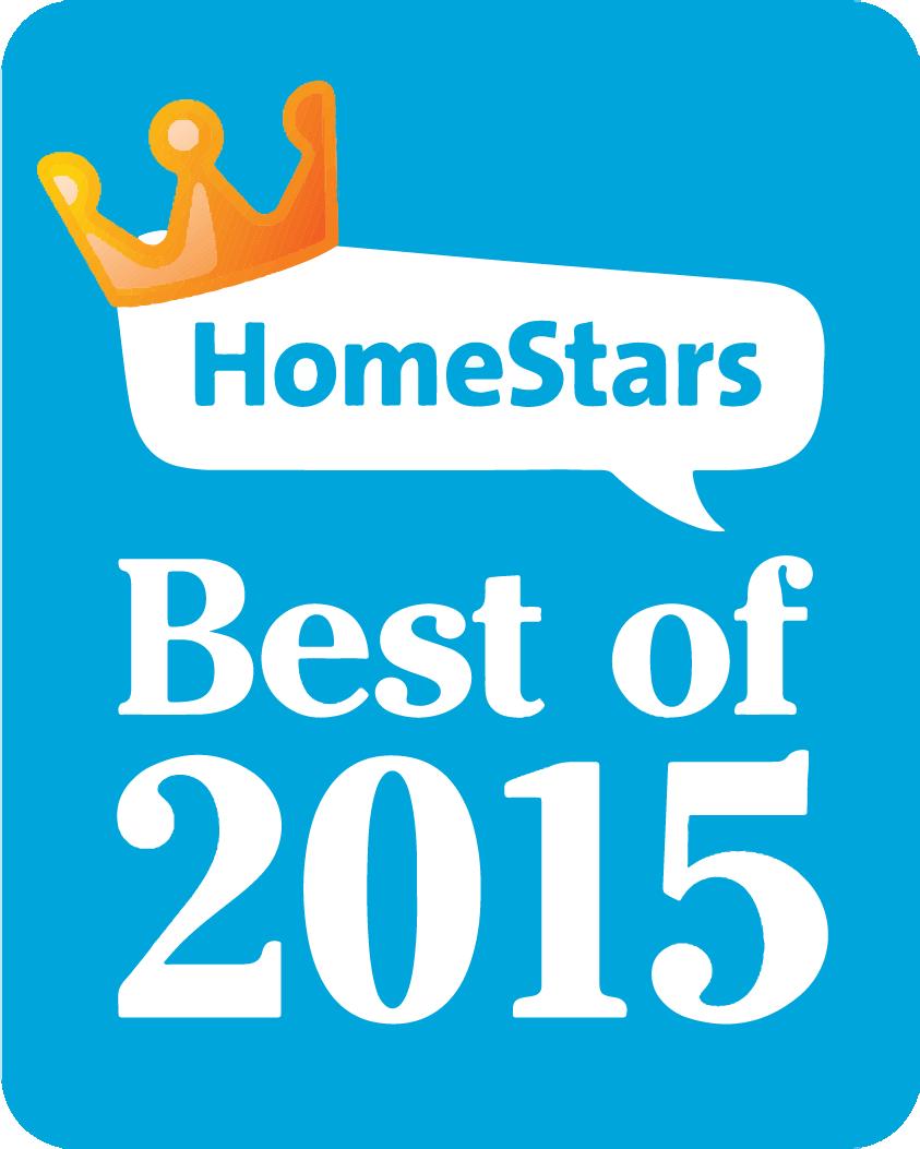 Winner - HomeStars Best of 2015