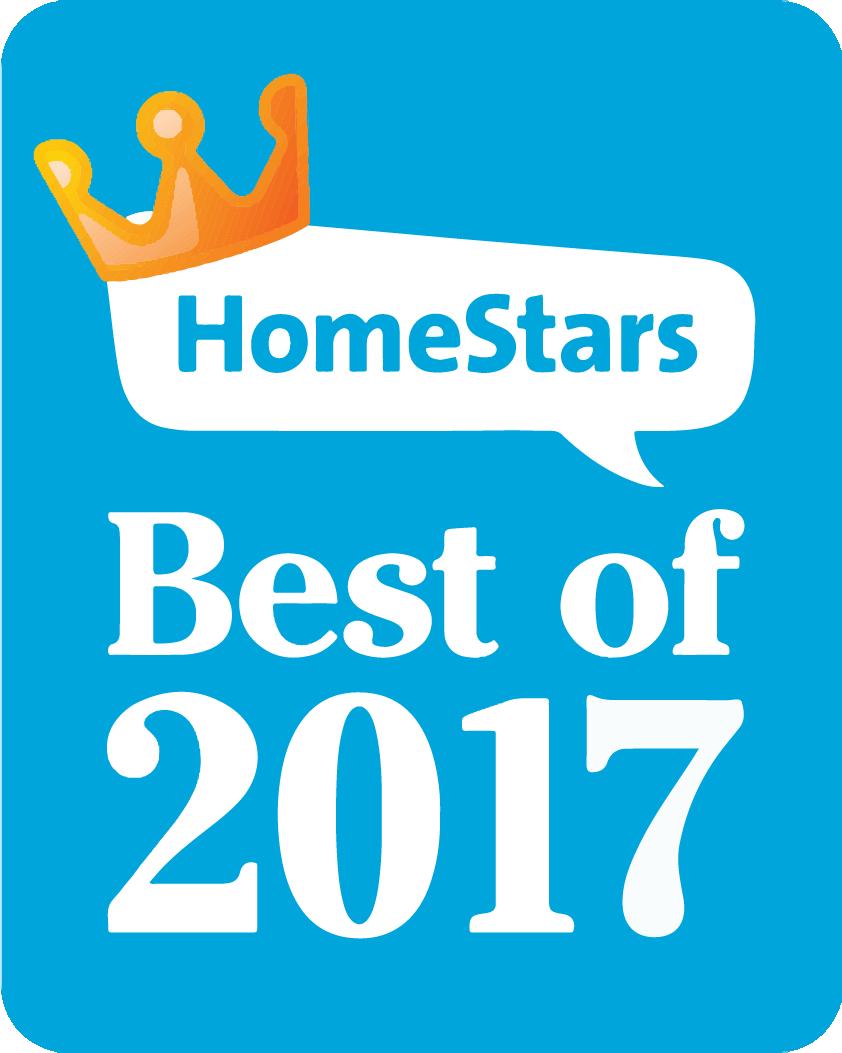 Winner - HomeStars Best of 2017