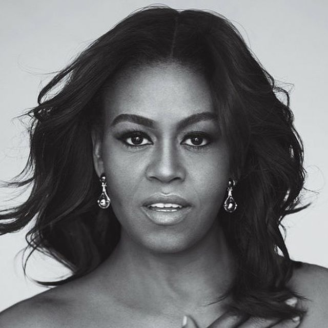 QUEEN in every sense of the word! Happy birthday, @michelleobama! Thank you for your strength, your passion and your brilliance ❤️ 👑 👑  #blackgirlmagic✨ #queensareborninjanuary #MichelleObama