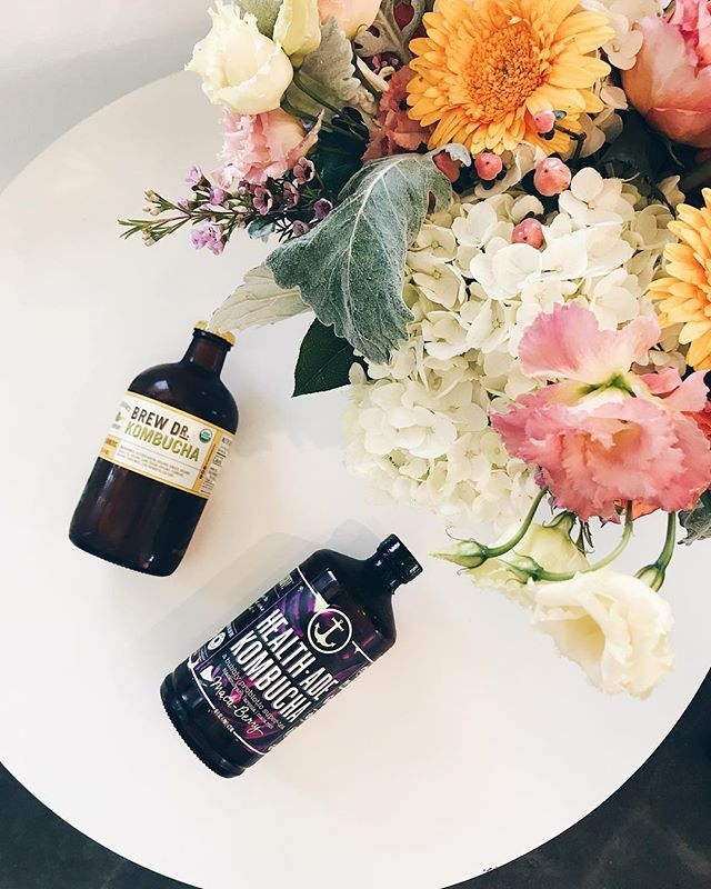 We 💗 Kombucha #solanabeachcoffeecompany #coffee #coffeecommunity #flowers #darlingmovement #kombucha #yummy #vsco #brewdoctorkombucha