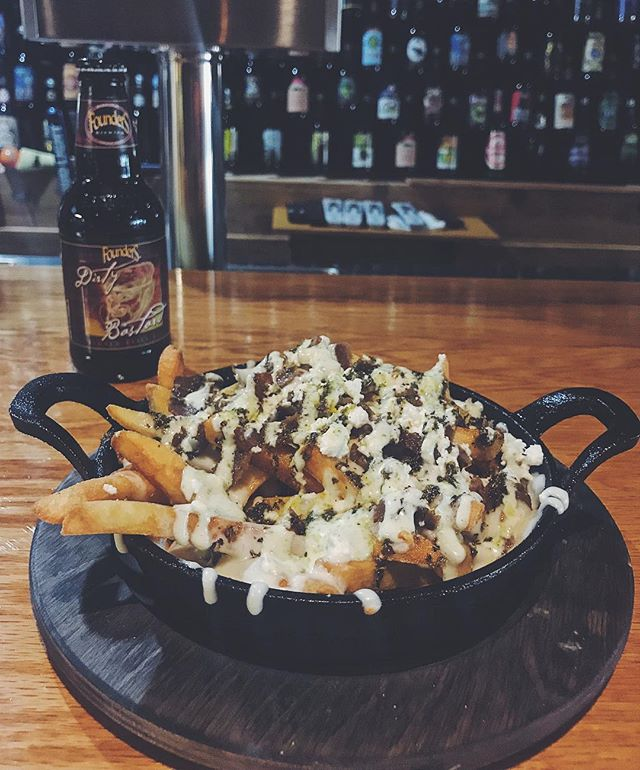 Our Can't Stop, Won't Stop Fries  #bosna #bosnaexpress #balkan #foodporn #foodie #food #foodies #foodie #foodporn #foodphotography #foodaddict #fries #loadedfries #cheese #gyro #donerkebab #doner #craftbeer #eatgr #grandrapids #grandrapidsmichigan #grandrapidsmi #experience #experiencegr #michigan #westmichigan