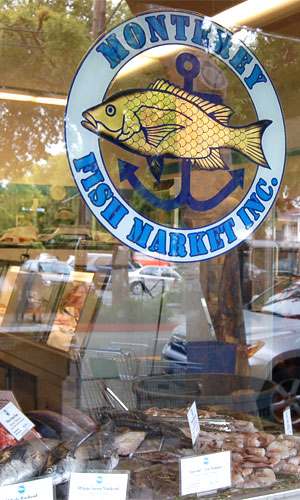 The Original Monterey Fish Market location at 1582 Hopkins Street in Berkeley, California