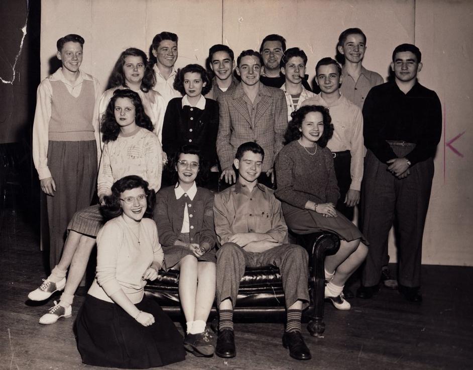 Drama Class - circa 1945