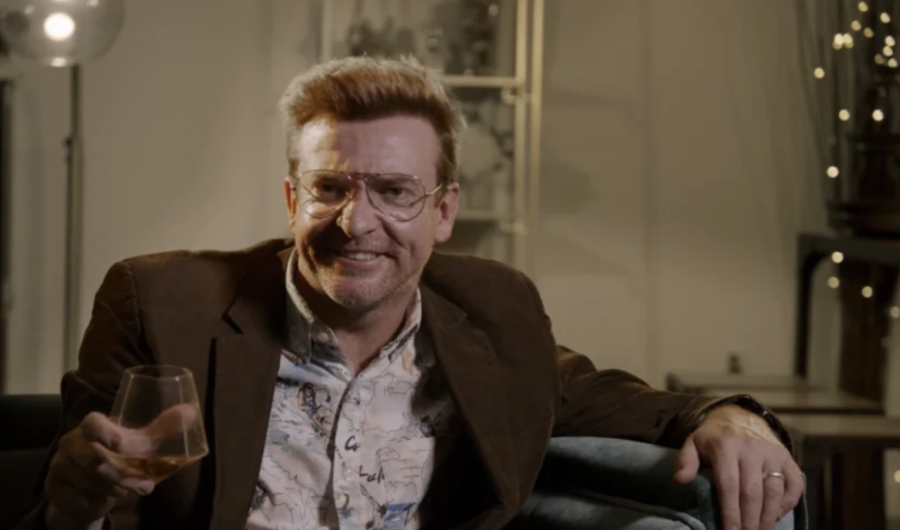 Rhys Darby in Channel 10's Drunk History, directed by Dan.