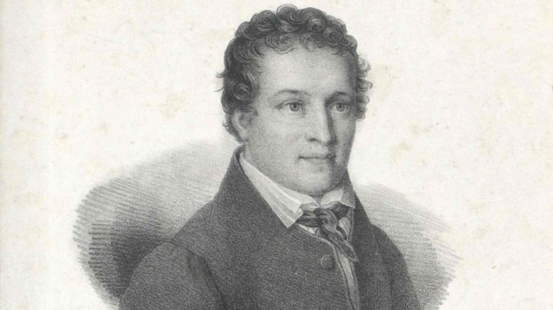 A portrait of Kaspar Hauser.