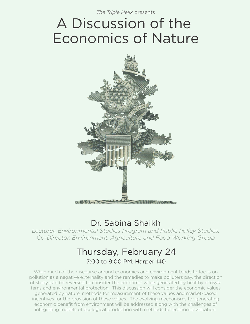 Economics of Nature