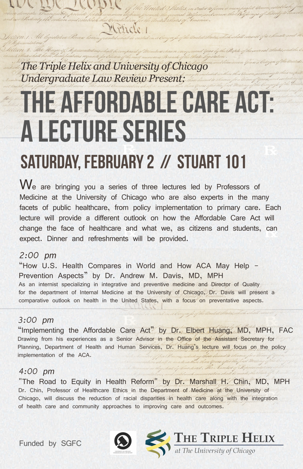 ACA Lecture Series