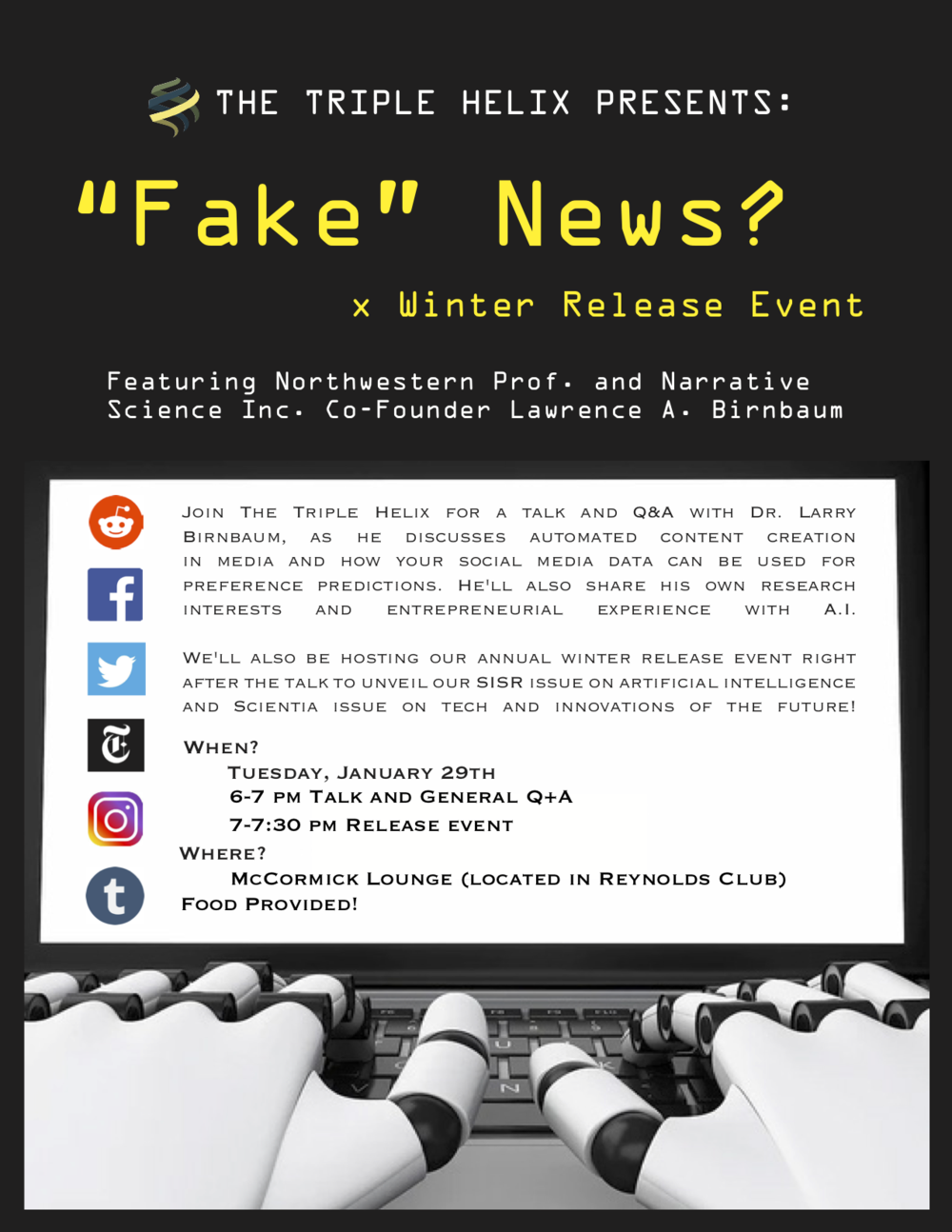 Fake News and Winter Release