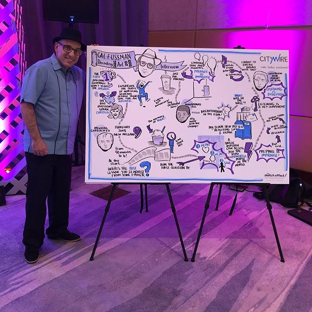 Thank you @constancewilson.co for an amazing representation of my talk at #citywire2019 conference. Love @thesketcheffect !
