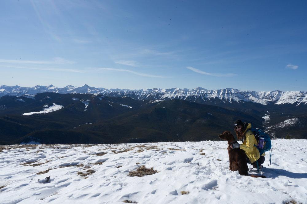 Hiking Prairie Mountain