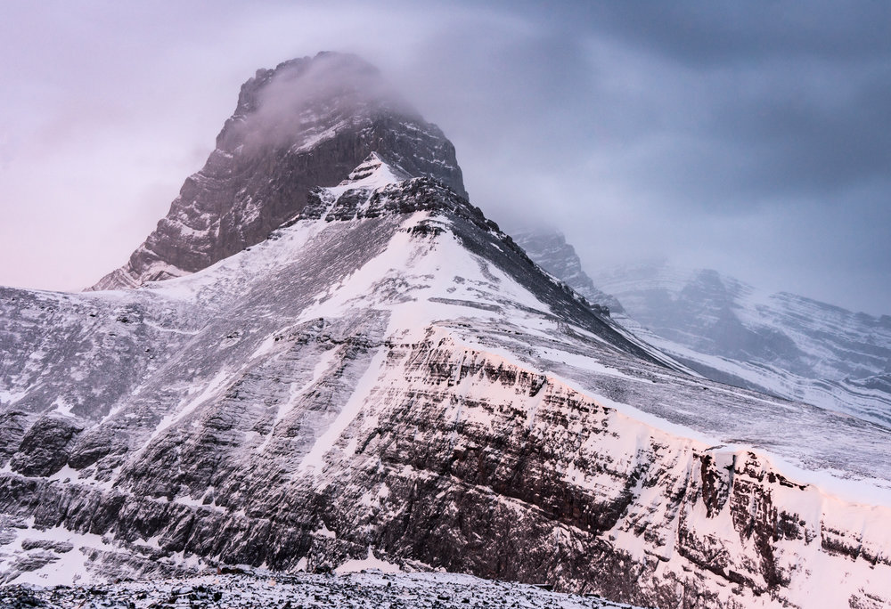 Mt Lougheed Sunrise  Sony A7ii, 28-70mm F3.5-5.6  6.0 Seconds,  f /9.0, 28mm, ISO 125