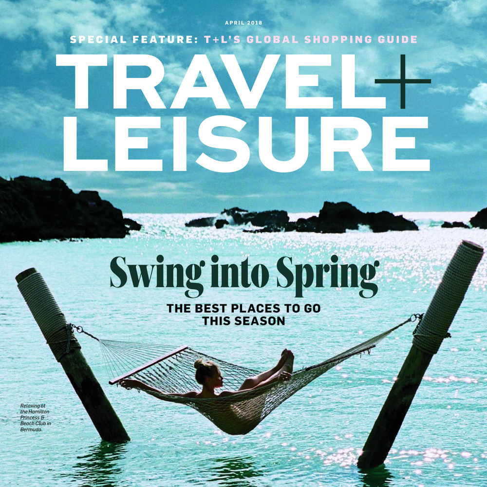 Travel + Leisure Cover - Bermuda