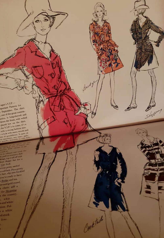 Vintage Vogue 1799 - The Shirtdress, 1967