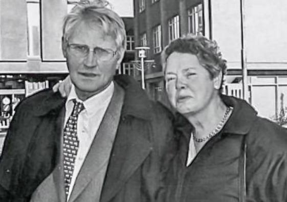 Gunnlaugur og Renata  (mynd úr Litla Bergþór)