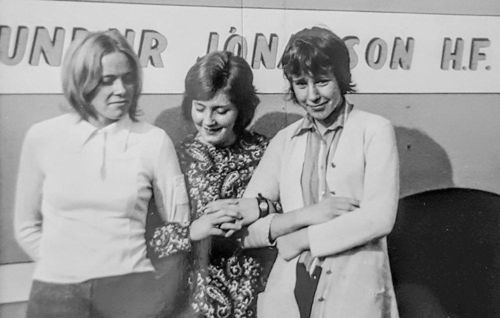 1970 - Linda, Stína, Brynja