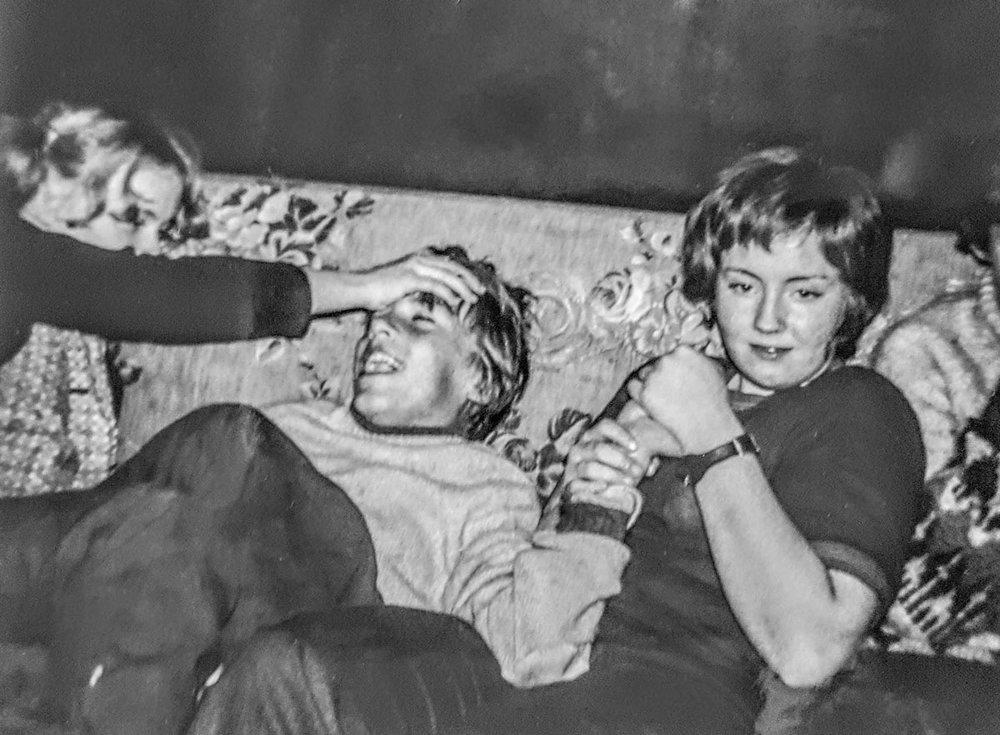 1970 - slagsmálahundarnir í Laugarási