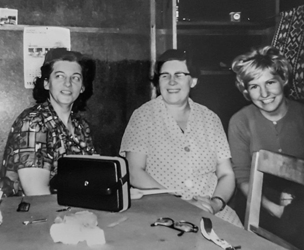 1970 - Rúna í straustofunni, Gugga, Svava