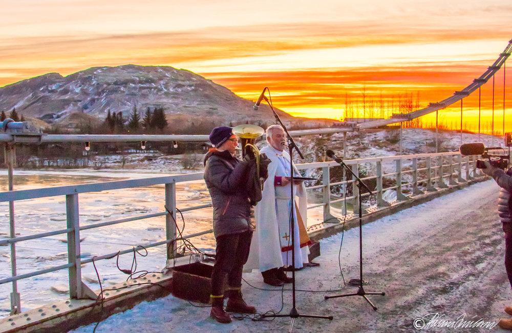 Unnur Malín og Kristján Valur