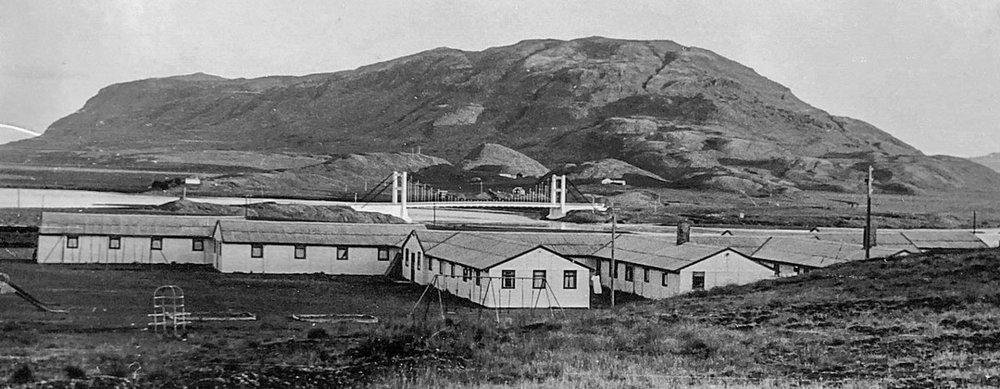 Barnaheimili RKÍ, Krossinn 1960 (Mynd frá Hallfríði Konráðsdóttur)