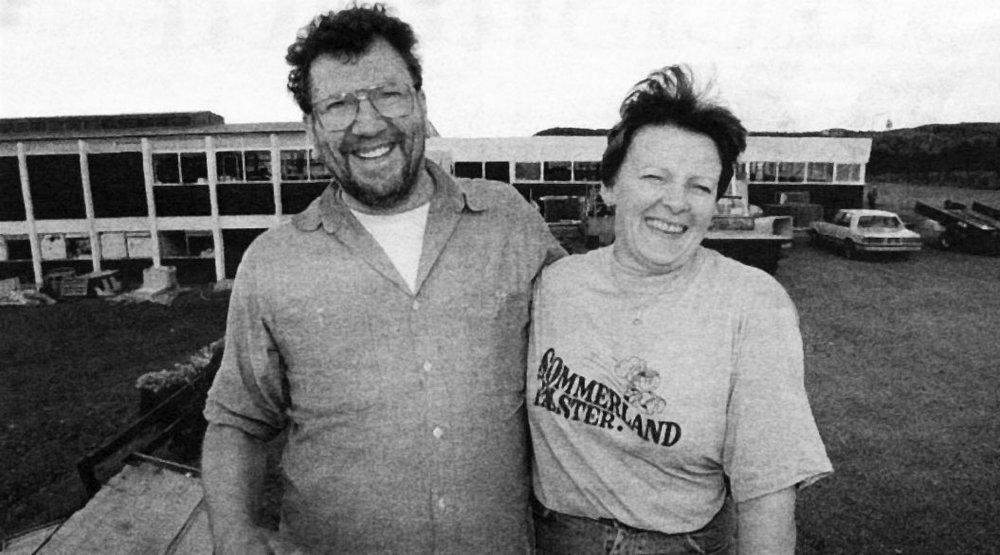 Snæbjörn og Hlíf (Mynd úr Degi 12. ág. 1998)
