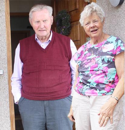 Gunnlaugur og Renata (mynd frá Renötu)