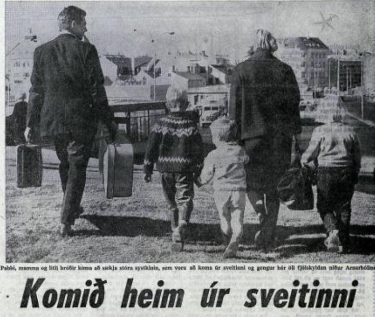 Mynd úr Vísi 1963