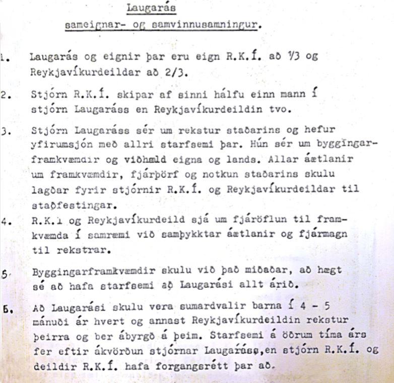 Sameignar- og samvinnusamningurinn frá 1975
