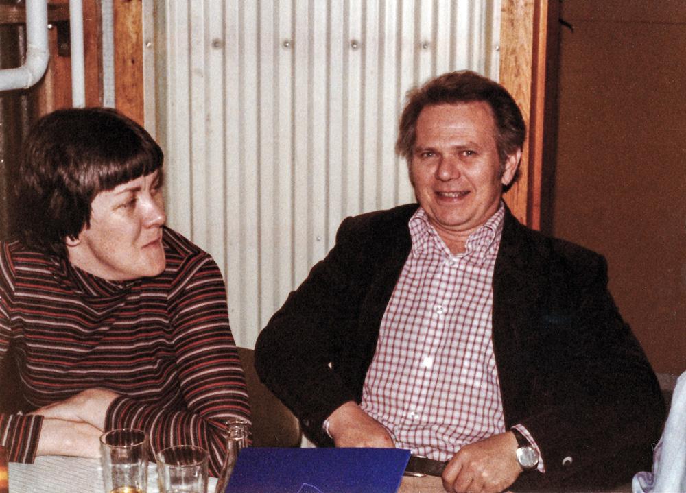 Ingibjörg Bjarnadóttir, Hörður V. Sigurðsson