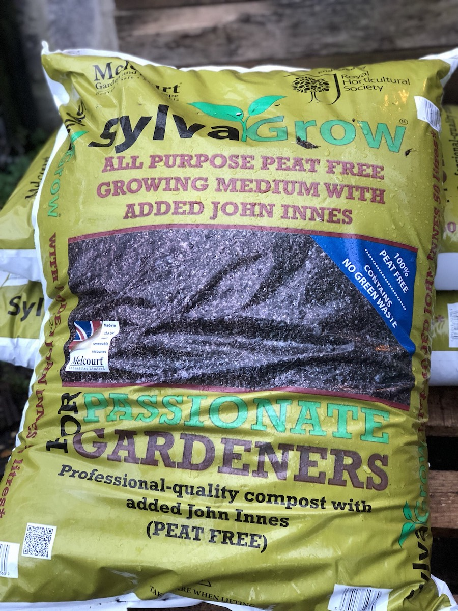 Melcourt SylvaGrow RHS approved compost