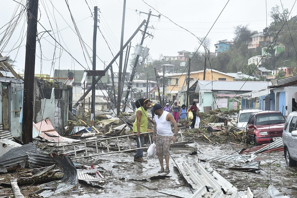 Despite the devastation, people were left waiting months for insurance payouts