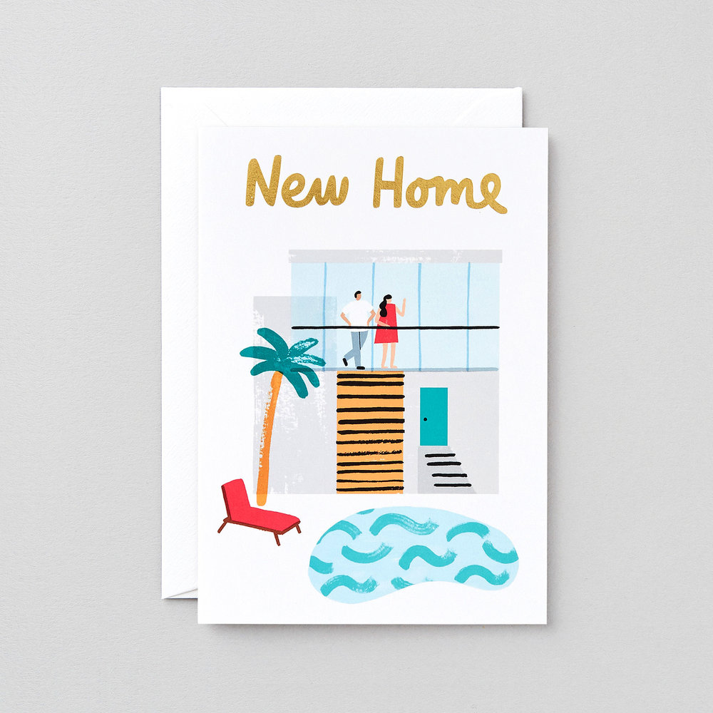 New Home Greeting Card Wrap