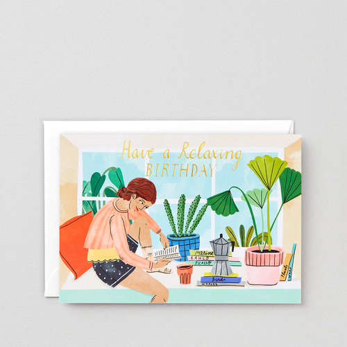 Greetings cards wrap relaxing birthday greeting card m4hsunfo