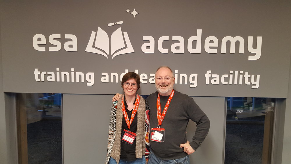 Our valiant tutors, Cecilia Tubiana and Günter Kargl.