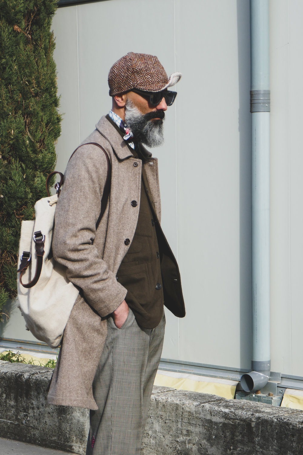 Pitti Uomo (international menswear event held in Florence) 2017