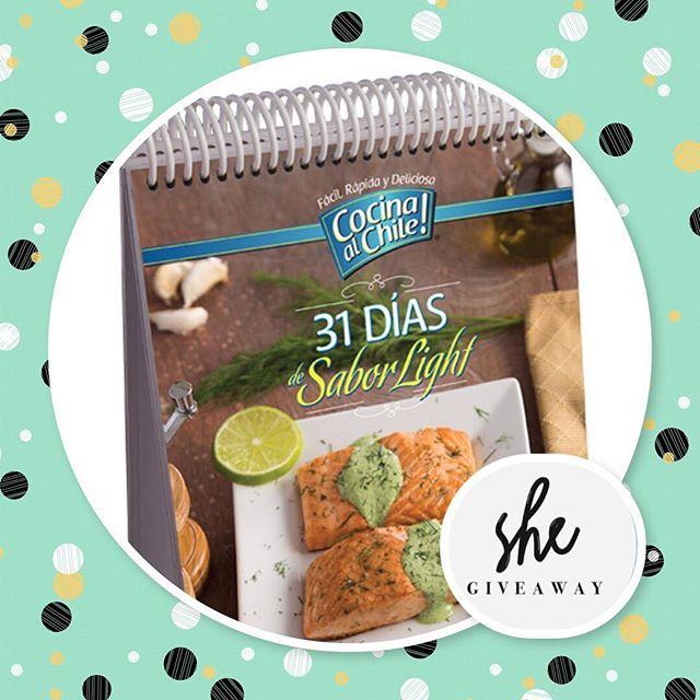 ••••GIVEAWAY!!!•••• Iniciamos esta semana, con un súper GiveAway 🤗🤗 Para todas las mujeres 🙋🏻que se metieron al challenge, 🏃🏻♀️y para todas las que les gusta cuidarse y comer saludable, les tenemos este super regalo!! 💪🏻 31 dias de sabor light!! De @cocinaalchile .🙀🍝 Que tiens que hacer para ganartelo?? Paso 1 🍧 Debes darle follow a @cocinaalchile  Debes seguirnos a nosotros @s.h.empowered  Debes seguir a @jimenarubiofoodstyling  Paso 2🍡 Debes tomarle una screenshot a esta imagen y subirla a tu perfil, taggeando a tres amigas tuyas, y a las 3 cuentas anteriores mensionadas.  Paso 3🥘 Escribe porque te encantaría ganarte este libro en este post, y asi nosotros sabremos que quieres participar y entraremos a tu cuenta para ver si seguiste las instrucciones.  Suerte a tooodas!!! Estaremos anunciando a la ganadora este domingo! 🙌🏻🙌🏻