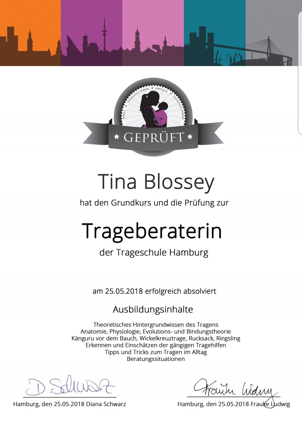 Trageberatung Jena Weimar Erfurt Apolda Tina Blossey