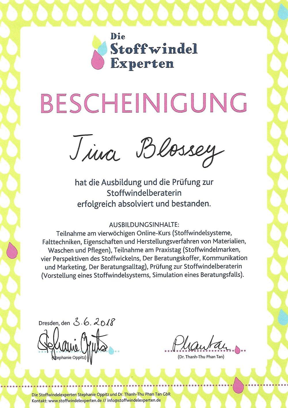 Trageberatung Stoffwindelberatung Jena Weimar Apolda