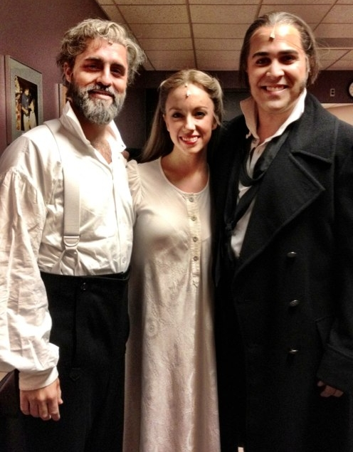 As Fantine, with Valjean Peter Lockyer and Javert Andrew Varela