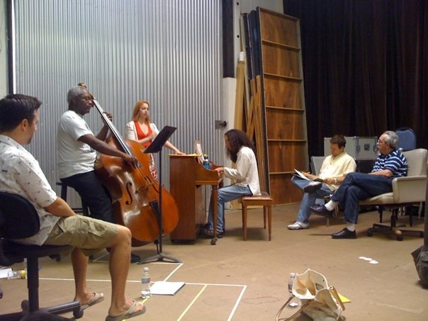 1st Day of Rehearsal at Laguna Playhouse for  My Way
