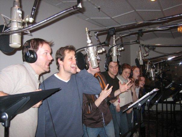 Recording the  Frankenstein  cast album