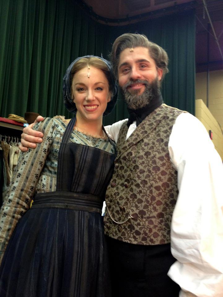 On as Fantine with Valjean Peter Lockyer