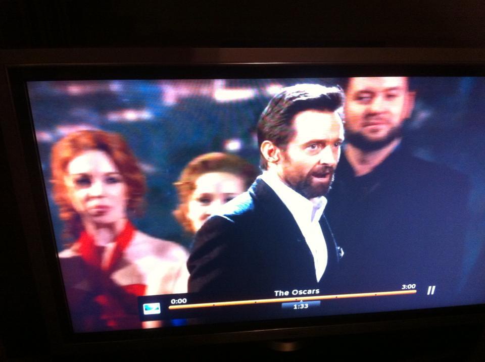 Oscars 2013 - thanks to a friend's DVR