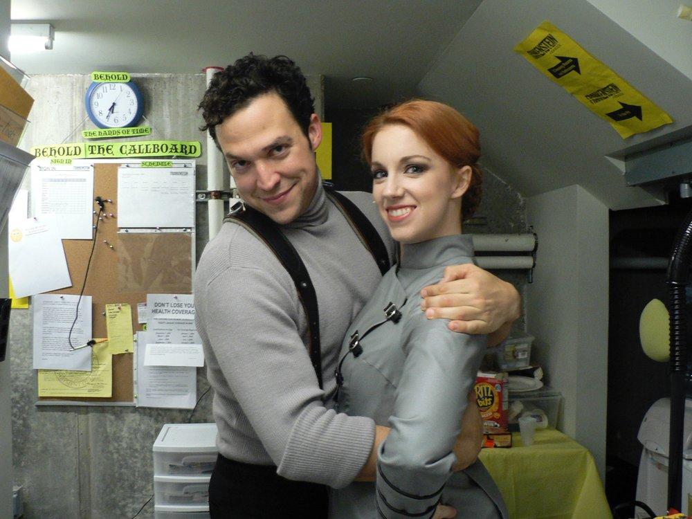 Frankenstein  Off-Broadway - with Aaron Serotsky