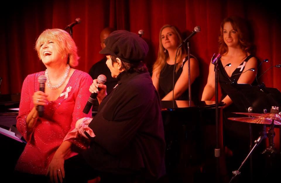 Singing backup vocals for Lorna Luft and Liza Minelli - Lorna's Pink Party