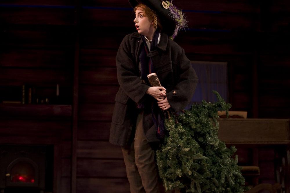 Little Women - stealing Christmas trees