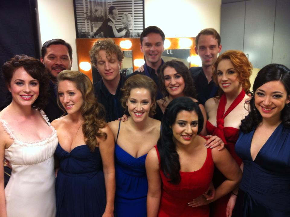 25th Anniversary tour cast members at the Oscars